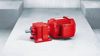 SEW helical gearmotor
