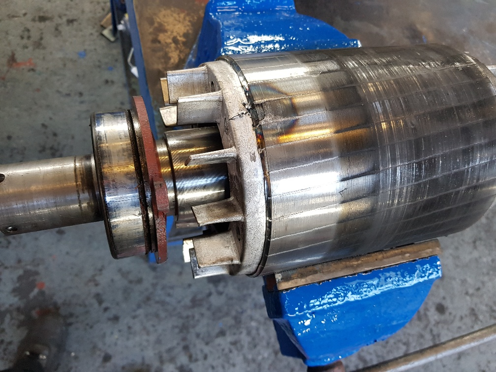 Electric motor failure